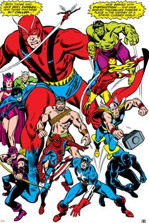 Giant-Size Avengers No.1 Group: Giant Man by John Buscema