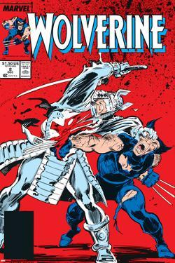 Wolverine No.2 Cover: Wolverine and Silver Samurai by John Buscema