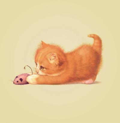 Cat by John Butler Art