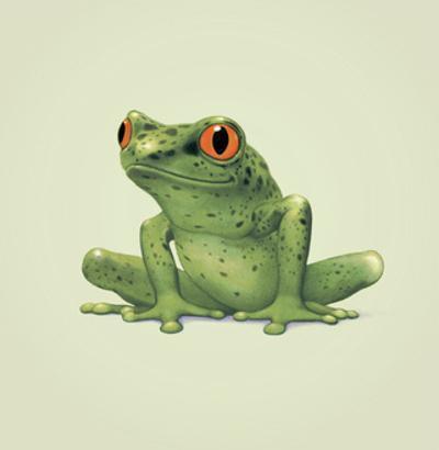 Frog by John Butler Art