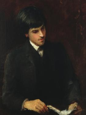 William Butler Yeats, 1886 by John Butler Yeats