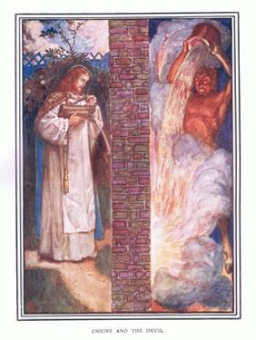 Christ and the Devil by John Byam Liston Shaw