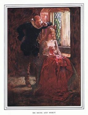 Mr Brisk and Mercy by John Byam Liston Shaw