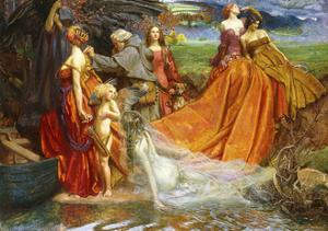 Now Is Pilgrim Year Fair Autumn's Charge' by John Byam Liston Shaw