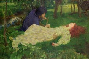 Silent Noon, 1894 by John Byam Liston Shaw