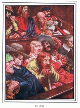 The Jury by John Byam Liston Shaw