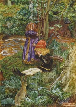 They Sat Down and Cried by John Byam Liston Shaw