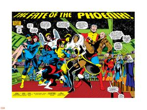 Phoenix: The Untold Story No.1 Group: Storm by John Byrne