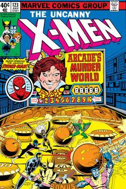 Uncanny X-Men No.123 Cover: Arcade by John Byrne