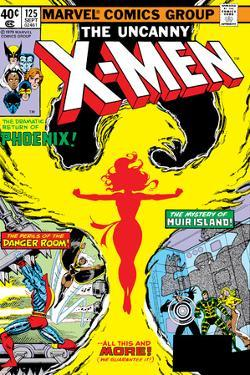Uncanny X-Men No.125 Cover: Phoenix, Colossus, Storm, Madrox and Havok by John Byrne