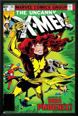 Uncanny X-Men No.135 Cover: Grey, Jean, Colossus, Wolverine, Storm, Cyclops, Dark Phoenix and X-Men by John Byrne