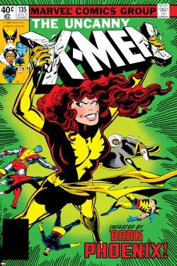 Uncanny X-Men No.135 Cover: Grey, Jean, Colossus, Wolverine, Storm, Cyclops, Dark Phoenix and X-Men by John Byrne