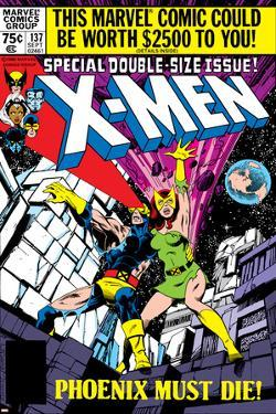 X-Men No.137 Cover: Cyclops, Grey and Jean by John Byrne