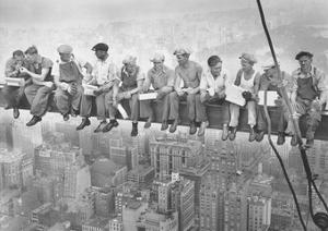 John C Ebbets Lunch Atop A Skyscraper Photo Art Print Poster