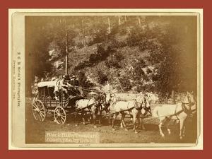 Black Hills Treasure Coach by John C. H. Grabill