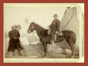 Chief Rocky Bear's Home by John C. H. Grabill