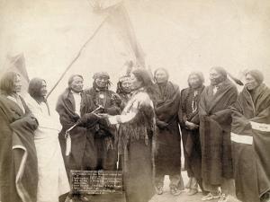 Indian chiefs at Deadwood, South Dakota, 1891 by John C. H. Grabill