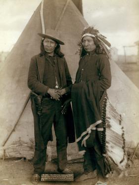 Red Cloud and American Horse, 1891 by John C. H. Grabill