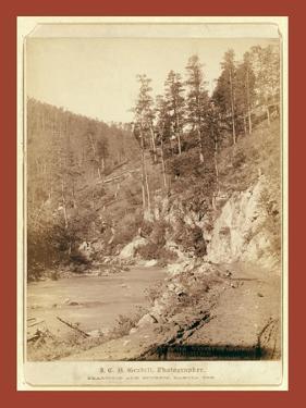 Scenery on Deadwood Road to Sturgis by John C. H. Grabill