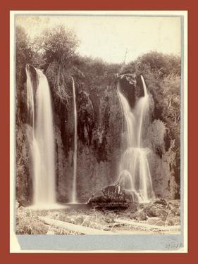 Spearfish Falls. Black Hills, Dak by John C. H. Grabill