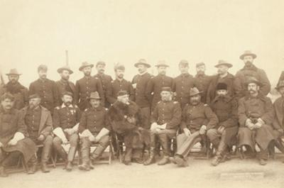 The Fighting 7th Officers