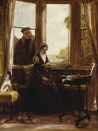 Lady Jane Grey and Roger Ascham, 1853