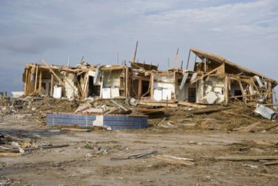 Damage Caused to Houses by Hurricane Katrina