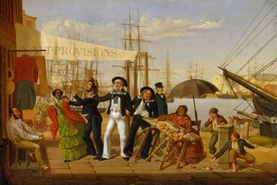After a Long Cruise, 1857 by John Carlin