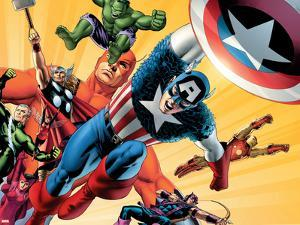 Fallen Son: The Death Of Captain AmericaNo.5 Group: Captain America by John Cassaday