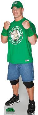 John Cena Green Shirt - WWE Lifesize Cardboard Cutout