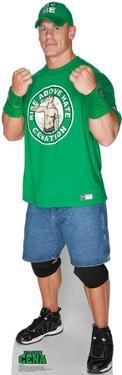 John Cena Green Shirt - WWE Lifesize Standup