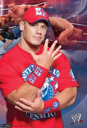 John Cena Wwe Wrestling Poster