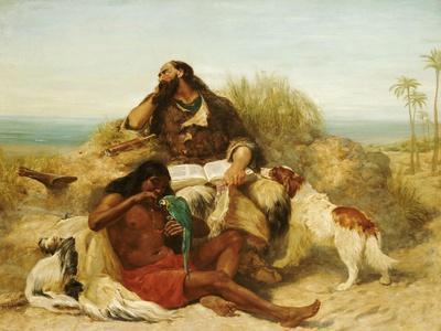 Robinson Crusoe and His Man Friday