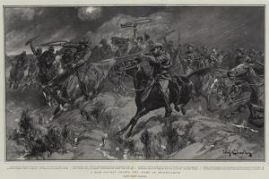 A Boer Cavalry Charge, the Fight at Brakenlaagte by John Charlton