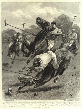 A Cross at Polo by John Charlton