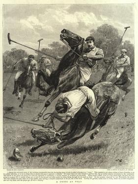 A Cross at Polo by John Charlton