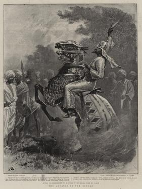 The Advance in the Soudan by John Charlton