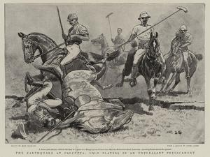 The Earthquake at Calcutta, Polo Players in an Unpleasant Predicament by John Charlton