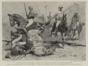 The Earthquake at Calcutta, Polo Players in an Unpleasant Predicament by John Charlton