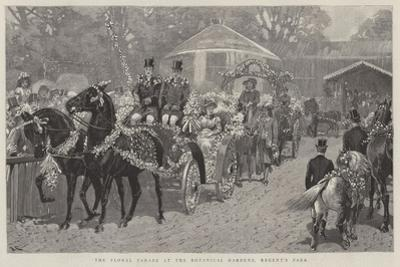 The Floral Parade at the Botanical Gardens, Regent's Park by John Charlton
