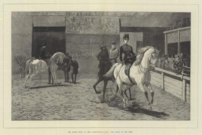 The Horse Show at the Agricultural Hall, the Arabs in the Ring by John Charlton