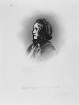 Mrs. Franklin Pierce, c.1886 by John Chester Buttre