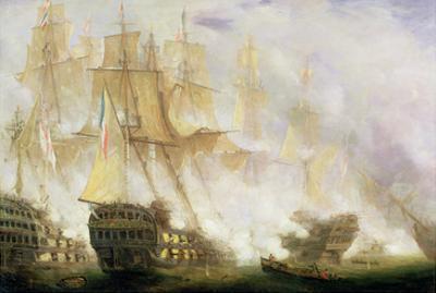 The Battle of Trafalgar, c.1841