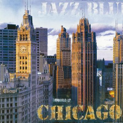 Jazz Blues I (microfiber) by John Clarke
