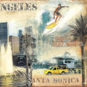 Los Angeles II by John Clarke