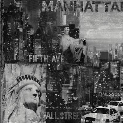 Manhattan in Black and White I by John Clarke