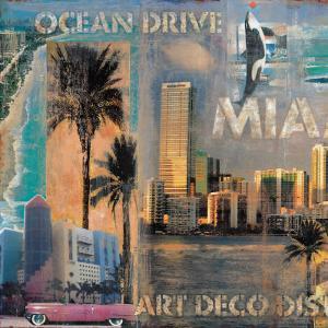 Ocean Drive, Miami I by John Clarke