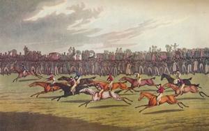 'Racing', c19th century by John Clarke