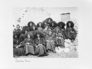 Group of Nuns at the Nunnery of Tatsang, 1903-04 by John Claude White