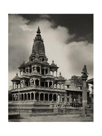 The Krishna Mandir Temple in Patan, Nepal